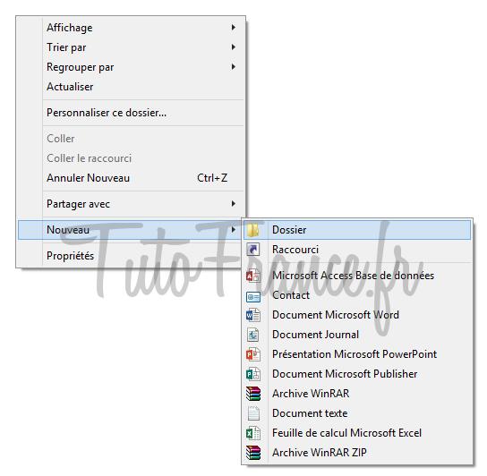 windows 7, 8  GodMode, accéder aux paramétrages systèmes Windows cachés 2