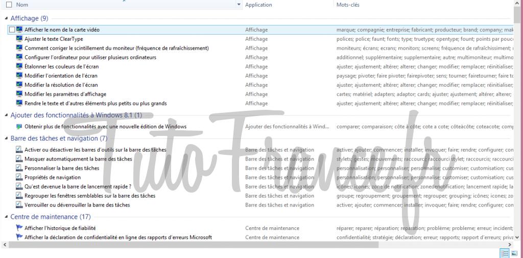 windows 7, 8  GodMode, accéder aux paramétrages systèmes Windows cachés 6