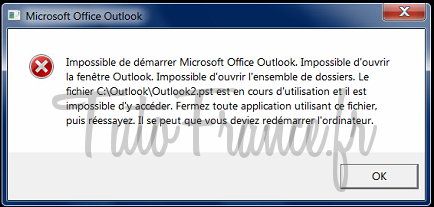 Reparation base email Outlook 2007 (1)