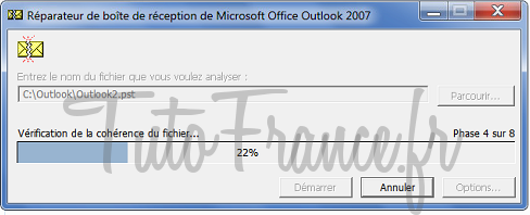 Reparation base email Outlook 2007 (4)