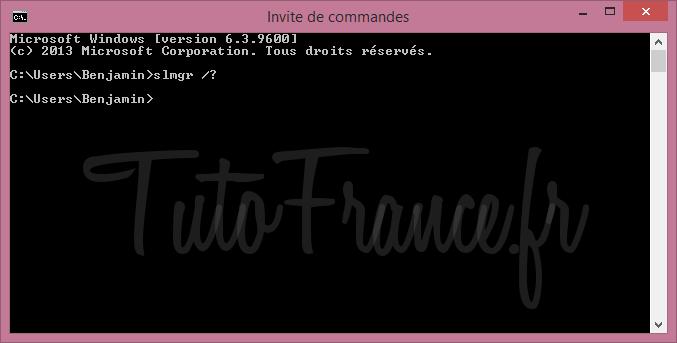 Modifier la clé windows après l'installation 5