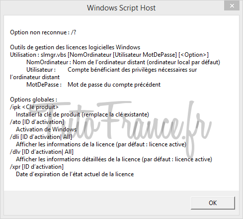 Modifier la clé windows après l'installation 6