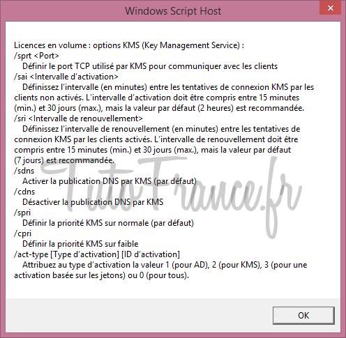 Modifier la clé windows après l'installation 9