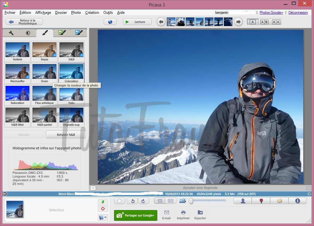 Comment modifier la couleur d'une photo (2)