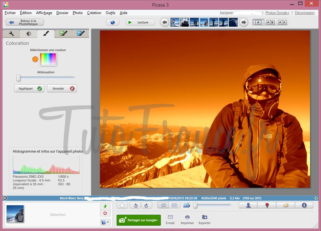 Comment modifier la couleur d'une photo (4)