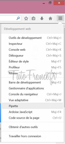 Comment trouver le code couleur HTML sur une page Internet (2)