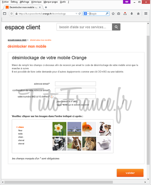 Comment désimlocker mon mobile GSM Orange (1)