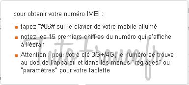 Comment désimlocker mon mobile GSM Orange (4)