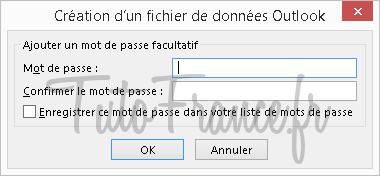Exporter et sauvegarder les éléments Outlook vers un fichier de données Outlook (.pst) (10)