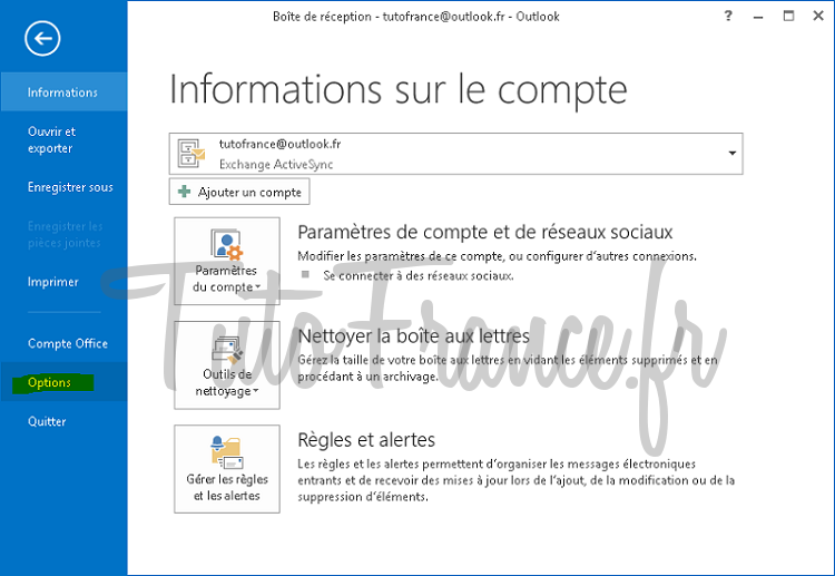 Exporter et sauvegarder les éléments Outlook vers un fichier de données Outlook (.pst) (2)