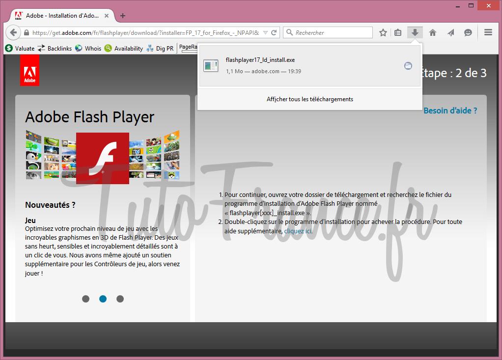 Comment mettre à jour adobe flash Player (4)