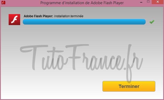 Comment mettre à jour adobe flash Player (7)