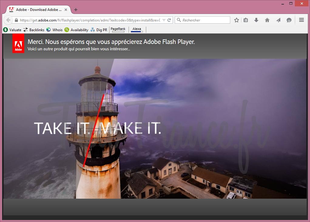 Comment mettre à jour adobe flash Player (8)