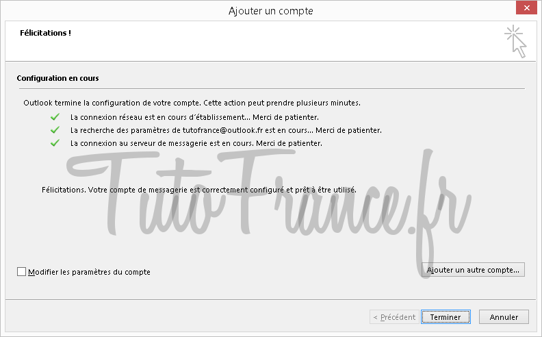 Configurer un compte mail Outlook 2013 (6)