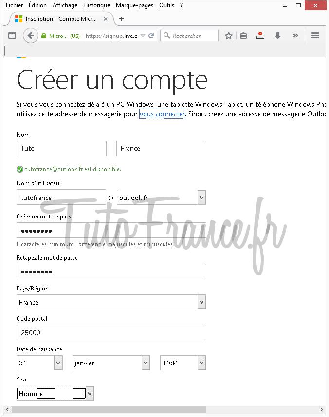 Créer une adresse mail (3)
