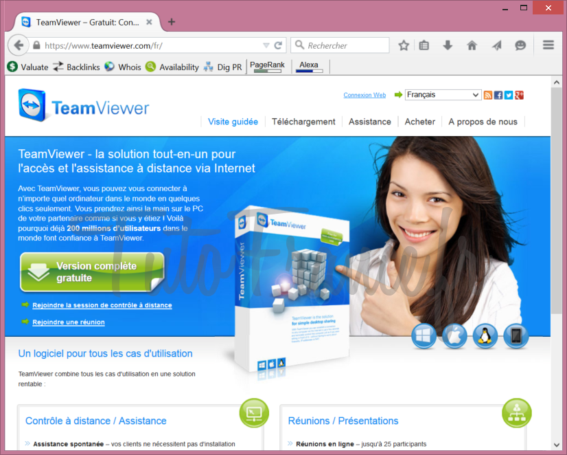 Teamviewer  comment se connecter à distance à un ordinateur (2)