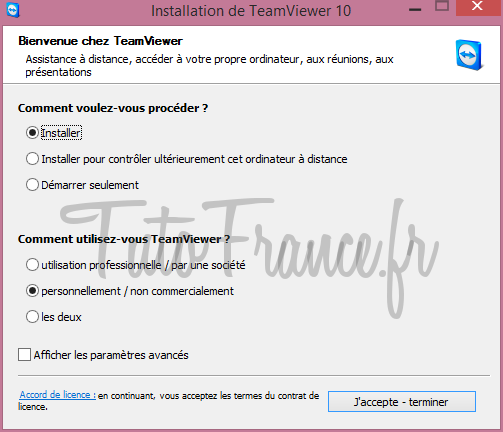 Teamviewer  comment se connecter à distance à un ordinateur (5)