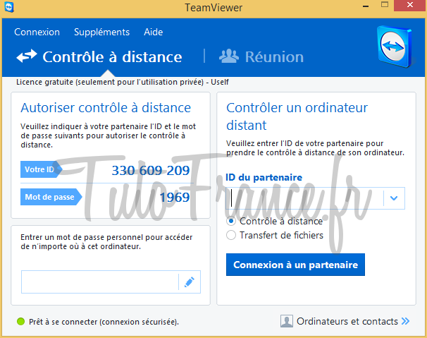 Teamviewer  comment se connecter à distance à un ordinateur (9)