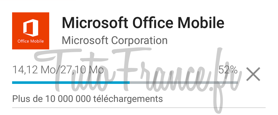 android  ouvrir, modifier un document word, excel avec Office Mobile (5)