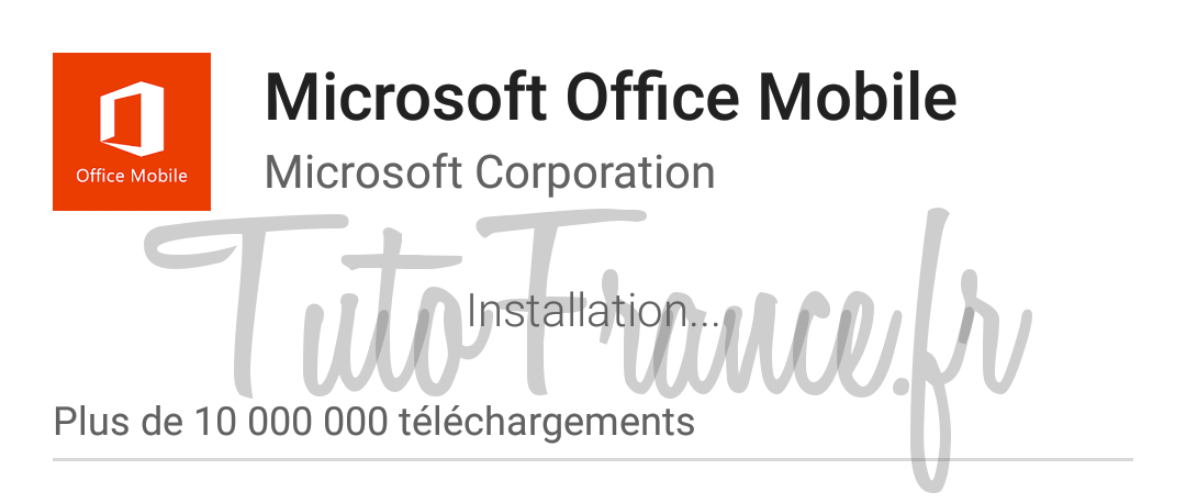 android  ouvrir, modifier un document word, excel avec Office Mobile (6)
